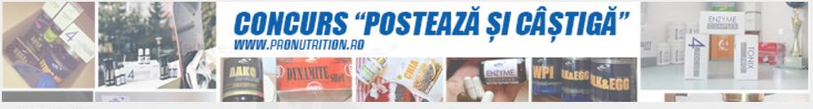 PRONUTRITION.ro Cod pentru Discount